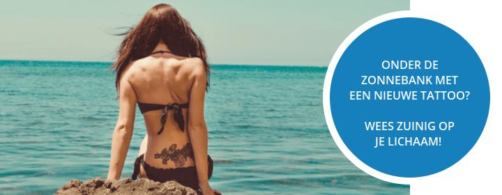 In de zon met een tattoo, Doe het veilig!